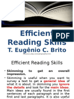 Efficient Reading Skills
