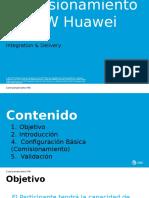 Comisionamiento MW-Huawei v.2.0