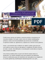 E-book Teatro Musical