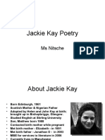 Jackie Kay Poetry
