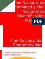 Plan de Competitividad y Diversificación Productiva - Perú 2016