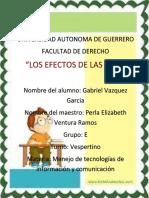 Efectos de Las Tic's Gabriel