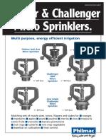 Philmac Orbitor Challenger - Spec Sheet