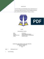 TUGAS II Sistem Politik Indonesia