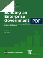 Building an Enterprise Government