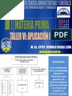 1. Materia Prima 2016