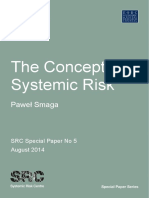 Concept of Systemic Risk - Smaga