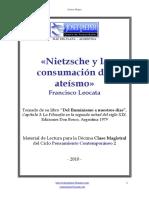 Leocata - Nietzsche y La Consumacion Del Ateismo