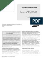 Boost M830 GalaxyRush Jelly Bean