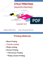 Lecture 16 -21 Transfer Printing