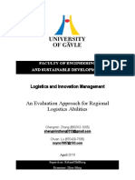 Logistics and Innovation Managment