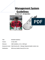 PP QMS Guidelines Manual V1 0 15 July 2014
