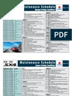 SX4!10!12 Maintenance Normal Severe