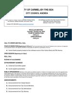 Agenda Regular Meeting 10-04-16