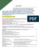 NSRF June 2010 Newsletter