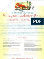 Millbrook Vineyards Lobster Bake
