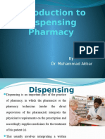 Introduction of Dispensing Pharmacy
