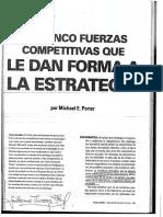 Fuerzas Competitivas de Porter