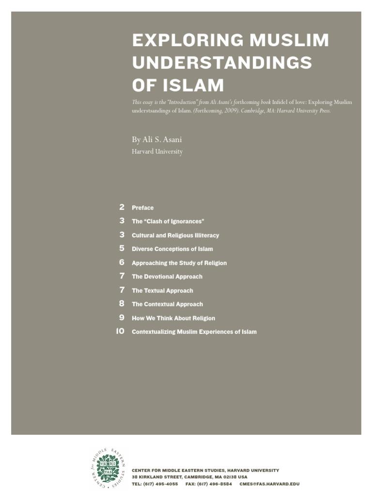 Ali S  Asani_Exploring Muslim Understandings of Islam pdf