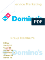 7 ps of Dominos
