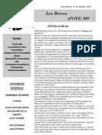 Journal N°16 - OYE349 Final