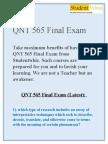 QNT 565 Final Exam Solutions on Studentwhiz