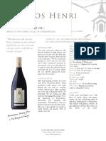 Clos Henri Pinot Noir