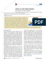 Hydrodynamics of Particles at an Oil-Water Interface