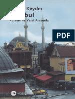 Çağlar Keyder_İstanbul-Küresel ile Yerel Arasında