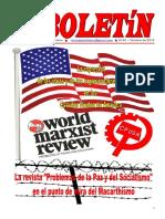 Boletin de octubre de 2016 del Ateneo Paz y Socialismo