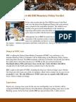 RBI Monetary Policy and Market