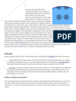 Interfacial Chemistry - Surface Properties