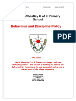 18. Behaviour Policy 2014