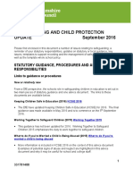 2016 Whole School Child Protection Policy and Templates