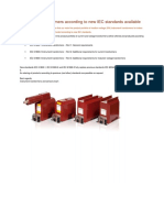 Instrument Transformers According to New IEC Standards Available