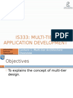 Lec1 - IS333 - Multi-tier Architecture.pptx