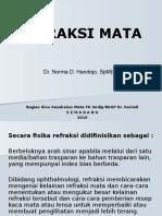 Bahan Kuliah Refraksi Oktober 2010