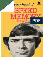 Speed Memory TonyBuzan