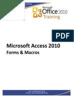 Access2010Forms Macros Handout