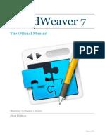 Rapidweaver Manual v7