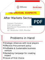 business entry strategy after market segment