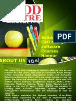 Solidworks 3D CAD Design Software Courses Nagpur