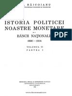 Istoria politicii noastre monetare şi a Băncii Naţionale. Volumul 2  1880-1914.pdf