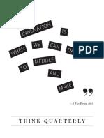 Think Quarterlay - Innovation