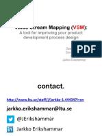 Value_Stream_Mapping_VSM - Jarkko Erikshammar
