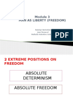 Module 3 Man as Liberty Power Point-1