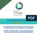 Autoevaluacion de La Escuela 2016-2017