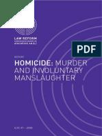 Homicide Murder