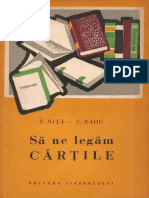 Să Ne Legăm Cărțile (E.niță-C.radu Ed.tineretului 1961)