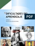Dificultades Del Aprendizaje (1)